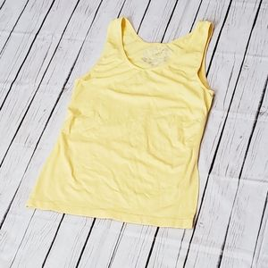 Cato Camisoles Tank Yellow Size Xlarge xl Solid
